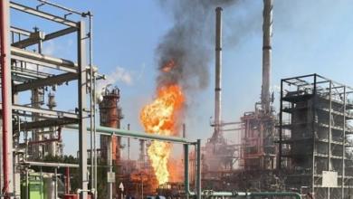 اندلاع حريق بمصفاة ميناء الأحمدي في الكويت